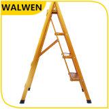 De binnenlandse Vouwbare Brede Ladder van het Metaal van de Stap met Veilig Spoor