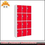 Heiße Handelsmöbel-abnehmbare 12 Tür-Metallgarderobe des Verkaufs-Jas-031