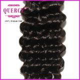 8A cheveu brésilien humain profond de Remy de Vierge de l'onde 100% à la longueur différente