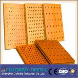 Parois de paroi internes Panneaux de mur acoustiques perforés en bois