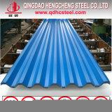 PPGI tôle de toit couleur RAL en acier recouvert de feuille de toiture