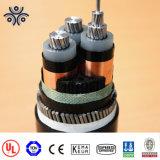 Norme du CEI de câbles d'alimentation de la tension 2*35mm2 11kv XLPE