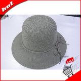 Sombrero de Paja de papel el papel de la Moda Mujer Sun Hat Hat Hat