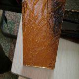 3mm und 4mm gelbe Flora-gekopiertes Glas