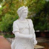 Estátua de mármore natural para decoração de jardim T-5745