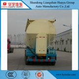 50cbm carbon Steel tanker Semi Trailer for Wheat Flour/PVC/Bulk Cement/Powder material/Cement Discharging
