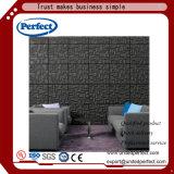 Commerical gebruikte 3D Akoestische Comité van de Muur van de Vezel van de Polyester van de Raad