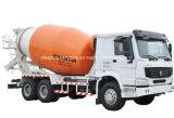 Caminhão de entrega M3 concreto do caminhão 8 do rolo do cilindro do misturador de cimento das rodas de HOWO 10