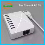 8 USB 지능적인 충전기 10000mA는 비용을 부과 전화 충전기 단식한다