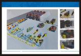 Autonomer industrieller elektrischer Ladeplatten-LKW Straddlle Reichweite-GabelstaplerAgv