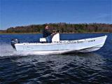 O Parque Aquático Aqualand 18pés 5,5 m de barco a motor de pesca de fibra de vidro (180c)