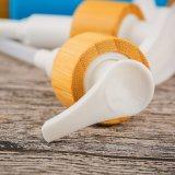 Pompe en plastique de lotion de bouteille de shampooing de qualité
