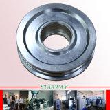 Aluminium, das mit CNC-drehenmetalteilen maschinell bearbeitet