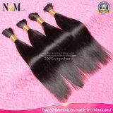 8A não processado costurando cabelo brasileiro / indiano / malaio / peruano Virgin Bulk Hair Weave
