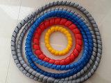 PP duradero protectores de manguera espiral para mangueras hidráulicas