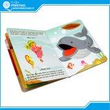 Impressão de livros infantis de mesa com canto redondo