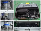 отметка лазера гравировального станка лазера волокна металла 1mm глубокая/50W /100W Ipg