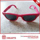 Lunettes de soleil bon marché pliables de mode avec le logo fait sur commande pour le cadeau promotionnel