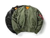 OEM 남자와 여자의 형식에 의하여 덧대지는 폭격기 재킷