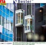 Panoramische Lift met het Glas Carbin van Sts van de Spiegel en het Systeem van de Controle van de Monarch