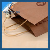 Kraft stampato Paper Bag con Tiwst Paper Handle (CMG-MAY-041)