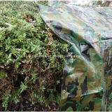 Grande bâche de protection lourde de camouflage d'armée