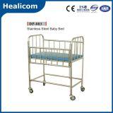L'équipement médical de l'hôpital lit bébé en acier inoxydable