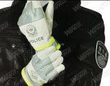 Gants réfléchissants policiers de circulation du coton (FGST-WW02 (coton))