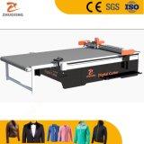 Cuero Tela Tela CNC automática Máquina de corte Textil de prendas de ropa de corte plotter de corte de patrón de material con el precio de fábrica Ce