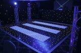 白くおよび黒いダンス・フロアLEDのStarlitダンスのタイル