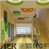 PVC colorido Industrial pisos de vinilo cubre para niños