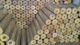 Vuurvaste Isolatie, Hitte - verzegelende Aluminiumfolie die op de Wol van de Rots, Glaswol, Steenwol voor Pijp van de Isolatie van de Omslag van de Buis de Materiële onder ogen ziet