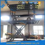 Garaje móvil utiliza el tipo de tijera ascensores a la venta de autos usados