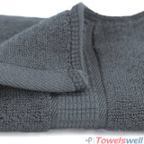 Washcloth naturalmente antibatterico del bambù del lusso 100% di Grey