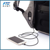Vente à chaud de haute qualité sac à dos Antivol avec port de chargement USB
