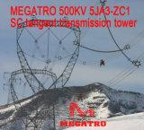 Megatro 500kv 5ja3-Zc1 Scのタンジェント伝達タワー