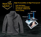 8-Colors rivestimento esterno dell'ufficiale militare del comandante Softshell Waterproof Windproof Coat