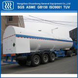 Flüssiger Sauerstoff-Stickstoff-Argon CO2 Gas-Transport-halb Schlussteil-Straßentankfahrzeug