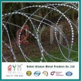 Barrera militar de la pared de la maquinilla de afeitar de la defensa del ejército de la pared de la seguridad