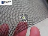 Schermo rivestito a resina epossidica della zanzara dello schermo dell'insetto della rete metallica della lega di Balck