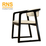 D010模倣される現代贅沢なレストラン木椅子のレストランの椅子を食事する