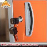 La puerta 6 coloridos muebles de almacenamiento de acero Caja armario armario de metal
