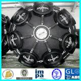 Surtidor de goma marina neumático flotante de la defensa