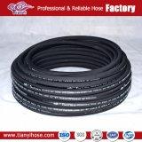 Flexible hydraulique de caoutchouc sous pression moyenne
