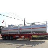 3 осей транспортного прицепа асфальт топливного бака