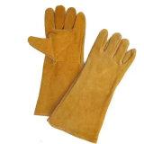 Для тяжелого режима работы промышленной безопасности водителя рабочей кожаные перчатки сварки