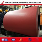 Matt-rote Farbe Preapinted PPGI PPGL Stahl galvanisierter Ring für Dach