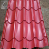 Pente 900mm de SGCC après feuille en acier ondulée de toiture de la largeur PPGI