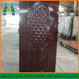Nuevo diseño de la piel de la puerta de melamina