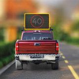 Vms van de Dempers van Australië zet het StandaardVrachtwagen Opgezette Voertuig van de Raad de Tekens van het leiden- Bericht op